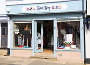 Blue Bay clothes shop, Market Hill, Woodbridge, Suffolk, England, UK
