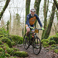 John Moloney from Clare Crusaders CC competing in the Ennis CX Cyclocross Race at Lees Rd, Ennis