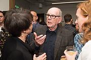 LISA BERNARD; DAVID HURN; BRONWEN COLQUHOUN, Opening of the Martin Parr Foundation party,  Martin Parr Foundation, 316 Paintworks, Bristol, BS4 3 EH  20 October 2017
