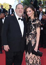 """Harvey Weinstein and Georgina Chapman attend the screening of """"The Little Prince"""" at the 68th Cannes Film Festival on May 22nd, 2015 in Cannes, France. Photo by Lionel Hahn/ABACAPRESS.COM  