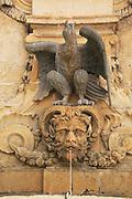 Water fountain Emmanuel de Rohan de Polduc, Grand Master between 1775-1797, Saint George's Square, Valletta, Malta