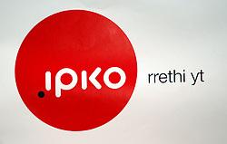 PRISTINA, KOSOVO - DECEMBER 14 - IPKO logo