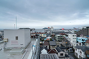 Yokosuka with Tokyo Bay and Sarushima Island