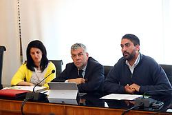 ALIDA PADOVANI GIANPAOLO BARBIERI MARCO FABBRI<br /> CONFERENZA STAMPA CLARA COMACCHIO
