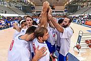 DESCRIZIONE : Trento Nazionale Italia Maschile Trentino Basket Cup Italia Paesi Bassi Italy Netherlands <br /> GIOCATORE : Italia Italy<br /> CATEGORIA : Fair Play Before Pregame<br /> SQUADRA : Italia Italy<br /> EVENTO : Trentino Basket Cup<br /> GARA : Italia Paesi Bassi Italy Netherlands<br /> DATA : 30/07/2015<br /> SPORT : Pallacanestro<br /> AUTORE : Agenzia Ciamillo-Castoria/GiulioCiamillo<br /> Galleria : FIP Nazionali 2015<br /> Fotonotizia : Trento Nazionale Italia Uomini Trentino Basket Cup Italia Paesi Bassi Italy Netherlands