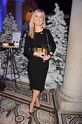 Fiona Phillips at a glittering St Paul's Cathedral carol concert to celebrate Childline's 30th anniversary hosted by the NSPCC in the presence of HRH The Countess of Wessex., London England. 13 December 2016.