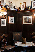 Ye Olde Mitre Tavern on the 4th October 2019 in London in the United Kingdom. Ye Olde Mitre Tavern is a traditional 1547 real ale pub in central London.