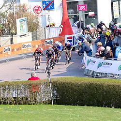 BORKUM (GER) wielrennen <br /> De slotetappe van de Energiewachttour 2016 werd verreden op het Duitse Waddeneiland Borkum. Kirsten Wild wint haar tiende etappe in de Energiewachttour en is daarmee recordhoudster