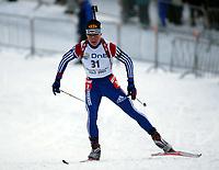 Skiskyting, 15. februar 2003, Verdenscup Holmenkollen, Oslo,   Sergei Rozhkov, Russland