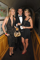 Left to right, OLIVIA BUCKINGHAM, CHARLIE GREEN and VIOLET VON WESTENHOLZ at a dinner hosted by fashion label Issa at Annabel's, Berekely Square, London on 24th April 2007.<br /><br />NON EXCLUSIVE - WORLD RIGHTS