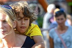 13-08-2014 NED: Dagje Ouwehands dierenpark, Rhenen<br /> Nic en Roan