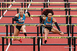 USATF Grand Prix track and field meet<br /> April 24, 2021 Eugene, Oregon, USA<br /> asics, womens 100 hurdles,