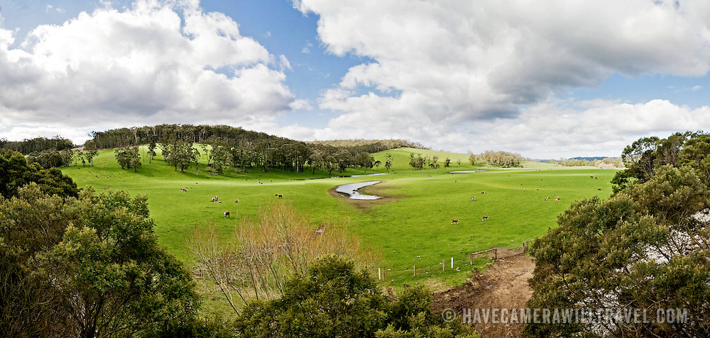 Farm in Towamba in rural New South Wales, Australia