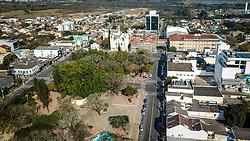 Praça Borges de Medeiros, na região central de Gravataí. Foto: Jefferson Bernardes/ Agência Preview