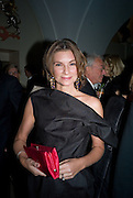 Natalie Massenet, Chaos Point: Vivienne Westwood Gold Label Collection performance art catwalk show and auction in aid of the NSPCC. Banqueting House. London. 18 November 2008<br /> *** Local Caption *** -DO NOT ARCHIVE -Copyright Photograph by Dafydd Jones. 248 Clapham Rd. London SW9 0PZ. Tel 0207 820 0771. www.dafjones.com