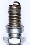 close up of a spark plug