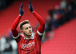 Josh Brownhill of Bristol City thanks fans at final whistle - Mandatory by-line: Nizaam Jones/JMP - 17/03/2018 - FOOTBALL - Ashton Gate Stadium- Bristol, England - Bristol City v Ipswich Town - Sky Bet Championship