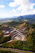 Quarry, Kaneohe, Oahu, Hawaii