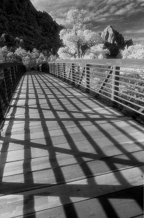 Bridge in Zion National Park, Utah, USA