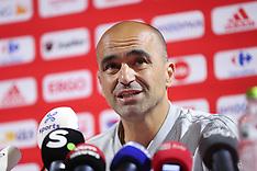 Belgian national soccer team Press Conference & Training - 04 June 2018