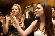 Annabel Dexter Jones and Bee Shaffer, Crillon 2004 Debutante Ball. Crillon Hotel. Paris. 26 November 2004. ONE TIME USE ONLY - DO NOT ARCHIVE  © Copyright Photograph by Dafydd Jones 66 Stockwell Park Rd. London SW9 0DA Tel 020 7733 0108 www.dafjones.com