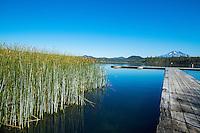 Lava Lake in Central Oregon.