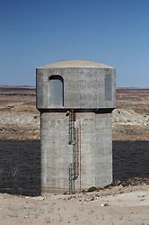 NAMIBIA DAMARALAND 24APR14 - Gate and dried up reservoir at the Omaruru river in Damaraland, Namibia.<br /> <br /> <br /> <br /> jre/Photo by Jiri Rezac<br /> <br /> <br /> <br /> © Jiri Rezac 2014