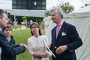 Lady Sarah Chatto and Arnaud Bamberger, The Cartier Style et Luxe during the Goodwood Festivlal of Speed. Goodwood House. 1 July 2012.