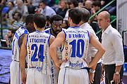 Team Banco di Sardegna Dinamo Sassari<br /> Dinamo Banco di Sardegna Sassari - Germani Basket Brescia Leonessa<br /> Lega Basket Seire A 2016/2017<br /> Sassari 15/10/2016<br /> Foto Ciamillo-Castoria