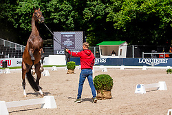 Tebbel Maurice, GER, Chacco's Son<br /> European Championship Jumpîng<br /> Rotterdam 2019<br /> © Hippo Foto - Dirk Caremans<br /> Tebbel Maurice, GER, Chacco's Son