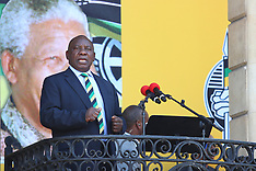 Cyril Ramaphosa @ Nelson Mandela Freedom Event - 11 Feb 2018