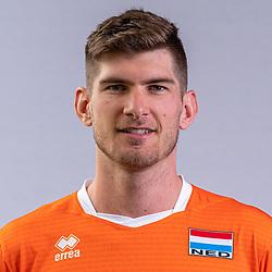 Stijn van Tilburg of Netherlands, Photoshoot selection of Orange men's volleybal team season 2021on may 11, 2021 in Arnhem, Netherlands (Photo by RHF Agency/Ronald Hoogendoorn)