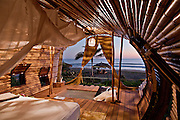 "Stunning Solar-Powered Treehouse In Mexico<br /> <br /> Simply north of Acapulco, in Juluchuca, Mexico, the Playa Viva renewable hotel possess launched a treehouse collection enclosed by lush palms. Using sustainable vacationing to another levels, the bilevel, beachfront treehouse sprawls over 700 square feet and was made by Deture Culsign. The firm directed to ""visually intrigue and highlight sustainable campaigns to supply a natural immersive visitor feel."" Compared to that conclusion the treehouse, that has been finished in only half a year from preliminary design conference to earliest guest checkin, is made of bamboo with energy and hot water supplied by solar powered energy.<br /> <br /> The idea of the design is actually for visitors to experience indoor and outside lifestyle within one space that is seamless. The locally acquired wood blends into the environment, with an unbarred atmosphere sitting place and private restroom situated on the ground floor. The roof associated with the toilet are deliberately rounded away, setting up to the sky and promoting an shower sensation that is outdoor. Top of the room, or perch, contains a king bed as well as 2 individual hammock—perfect for gazing out of the open tube on the exclusive beach.<br /> <br /> Guests include expected to leave their own inhibitions behind, investing in the au naturel feeling with the treehouse, which was developed by California-based Artistree. The package can sleeping three people who have costs ranging from $445 to $620, depending on the period, food, and pilates classes integrated. The resort alone sits on 200 miles and includes an estuary, an Aztec archeological web site, turtle retreat, and a coastal forest and mangrove environment which supporting a myriad of animals.<br /> ©Leonardo.Palafox/DETURE CULSIGN/Exclusivepix Media"
