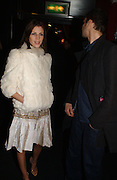 Liberty Ross and Rupert Saunders. Party to celebrate the First issue of British Harper's Bazaar. Cirque, Leicester Sq. London. 16 February 2006. ONE TIME USE ONLY - DO NOT ARCHIVE  © Copyright Photograph by Dafydd Jones 66 Stockwell Park Rd. London SW9 0DA Tel 020 7733 0108 www.dafjones.com