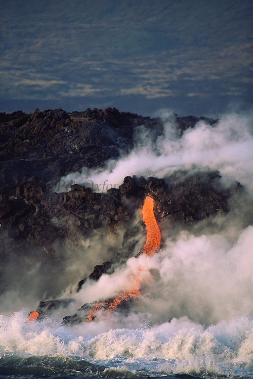 Volcanic eruption<br />February 1995<br />Cabo Hammond, Fernandina Island, GALAPAGOS<br />ECUADOR, South America