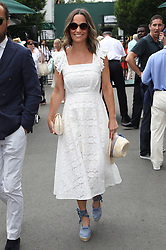 July 5, 2018 - London, London, United Kingdom - Pippa Middleton arriving  on day four of the Wimbledon Tennis Championships in London. (Credit Image: © Stephen Lock/i-Images via ZUMA Press)