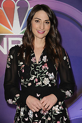 March 8, 2018 - New York, NY, USA - March 8, 2018  New York City..Sara Bareilles attending arrivals for the 2018 NBC NY Midseason Press Junket at Four Seasons Hotel on March 8, 2018 in New York City. (Credit Image: © Kristin Callahan/Ace Pictures via ZUMA Press)