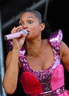 Alesha Dixon / Virgin Mobile V Festival V2009, Hylands Park, Chelmsford, Essex, Britain - 22nd Aug 2009.