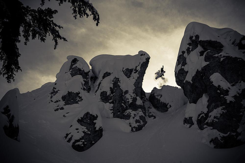 Mike Basich, Tahoe backcountry, CA. USA