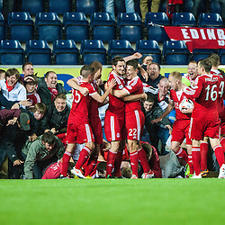 Falkirk 0 v 5 Aberdeen, 3rd round of the Scottish League Cup.