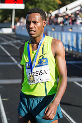 Boston Athletic Association Half Marathon, winner Lelisa Desisa