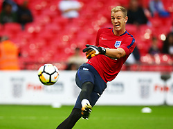 September 4, 2017 - London, England, United Kingdom - England's Joe Hart..during World Cup Qualifying - European Group F match between England  and Slovakia  at Wembley stadium, on September 4, 2017 in London, England. (Credit Image: © Kieran Galvin/NurPhoto via ZUMA Press)