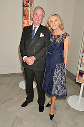 LORD & LADY ASTOR OF HEVER at the Alexandra Shulman and Leon Max hosted opening of Vogue 100: A Century of Style at The National Portrait Gallery, London on 9th February 2016.