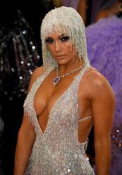 Jennifer Lopez attending the Metropolitan Museum of Art Costume Institute Benefit Gala 2019 in New York, USA.