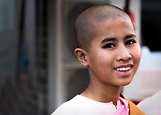 Burmese Buddhist Nuns