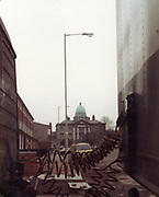 Old Dublin Amature Photos April 1984 WITH, <br /> Smithfield, Blackhall St, Kings Inns, Hill St, Temple St, Sallynoggin, R.C. Buckingham St, Chaplezord, Demolished Cottage Clonsilla, car, Sydney Cooper, Transport, BlackHall Place, Mercedes Tractor Unit,