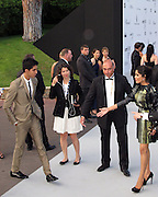 Dev Patel and Frida Pinto..2011 amfAR's Cinema Against AIDS Gala Inside..2011 Cannes Film Festival..Hotel Du Cap..Cap D'Antibes, France..Thursday, May 19, 2011..Photo By CelebrityVibe.com..To license this image please call (212) 410 5354; or.Email: CelebrityVibe@gmail.com ;.website: www.CelebrityVibe.com.