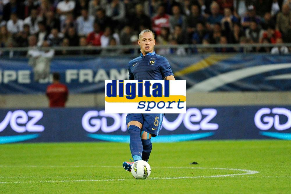FOOTBALL - FRIENDLY GAME 2012 - FRANCE v SERBIA - REIMS (FRANCE) - 31/05/2012 - PHOTO JEAN MARIE HERVIO / REGAMEDIA / DPPI - PHILIPPE MEXES (FRA)
