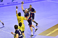 Mikkel HANSEN / Romain TERNEL - 04.06.2015 - Tremblay en France / Paris Saint Germain - 26eme journee de Division 1  -Beauvais<br />