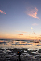 Sunshine Skyway Bridge at Dawn from Fort De Soto Park. 7 of 11 images taken with a Leica CL camera and 23 mm f/2 lens (ISO 1600, 23 mm, f/16, 1/60 sec). Raw images processed with Capture One Pro and AutoPano Giga Pro.